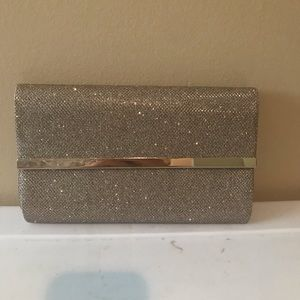 Bare Minerals sparkly clutch